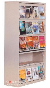 Magzine Regal, Magzine Zahnstange, Bücherregal