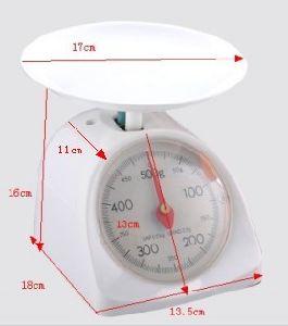 scala di plastica Zzsp-201 della cucina 5kg