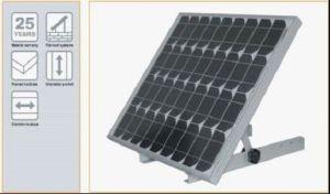 Fixação do painel solar
