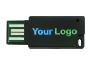 Двойной тонкий флэш-накопитель USB, хороший пункт для рекламных (Сюй-208)