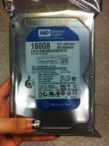 Wd 160g SATA жесткий диск для настольных ПК