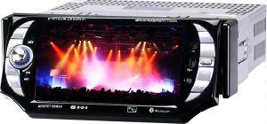 5-дюймовый сенсорный экран In-Dash 1 DIN DVD плеер с функцией GPS, телевизор, карту памяти SD, USB, iPod, двухзонная -2
