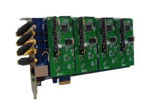 Carte analogique 4 ports GSM CDMA PCI E Asterisk