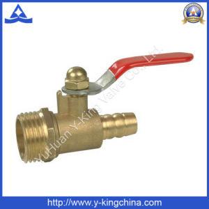 Valvola a gas d'ottone economica per il tubo (YD-1034)