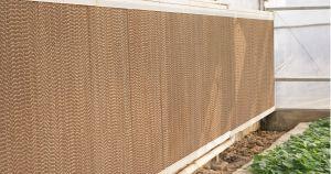 Канал охлаждения блока на стену для выбросов парниковых газов