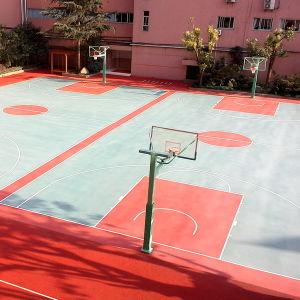 Pavimentazione di cristallo del campo da pallacanestro dello Spu di protezione dell'ambiente Cn-S04