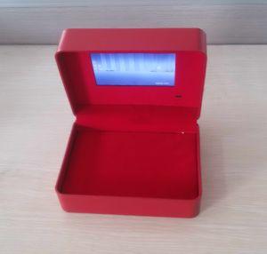 LCD de VideoDoos van het Scherm voor Verpakking