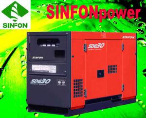 저잡음 디젤 엔진 발전기 세트 (SDG30)