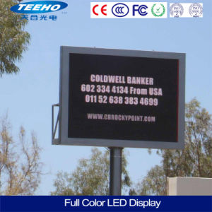 Grande vente P10 1/8s SMD écran LED RVB de la publicité de plein air