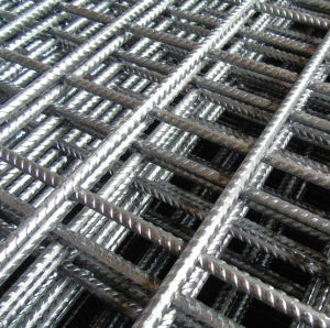 電流を通された金網