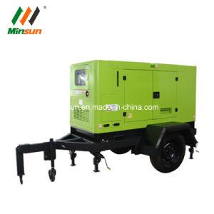 Hot Sale ! 10kw générateur diesel silencieux de type de remorque