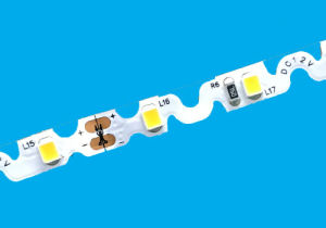 Ce aprobada 3años de garantía flexible tira de LED flexible