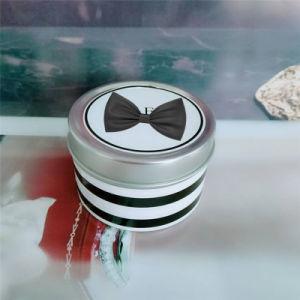 Verschiedenes Firmenzeichen gedruckte kundenspezifische hochwertige Werbegeschenk-Zitronengras-Kerze in einem Zinn-Kasten