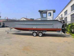 Все сварные 26FT Custom алюминиевых посадки судов/рабочих на лодке со стороны дома