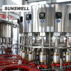 PEによってびん詰めにされる酪農場の飲料のためのアルミホイルのシーリング機械