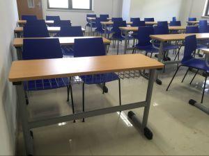 Высокое качество 2 человек студент письменный стол и стул