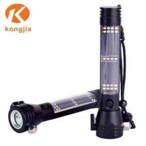 Lanterna LED portátil recarregável LED Solar Lanterna de luz exterior