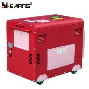 5kw stille Generator AVR (DG6500SE)