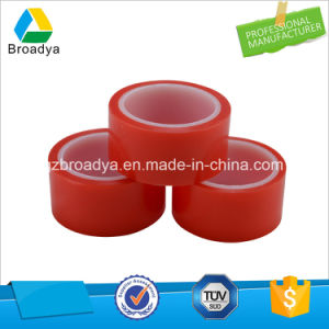 赤いポリエステルジャンボロールの倍は付着力の透過テープ(BY6965R)味方した