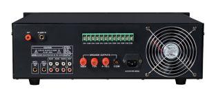 La potencia de 550 3u amplificador del sistema de megafonía