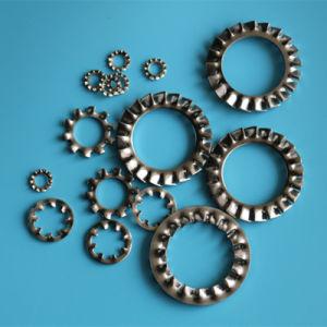 DIN6798A-M4 en acier inoxydable de la rondelle de blocage dentelée externe
