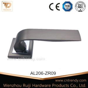 Aluminiumhebelgriff, interner fester hölzerner Tür-Griff
