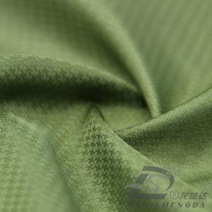 75D 260t tecidos Plaid 100% poliéster Jacquard Pongées Fabric (ZLE165J)
