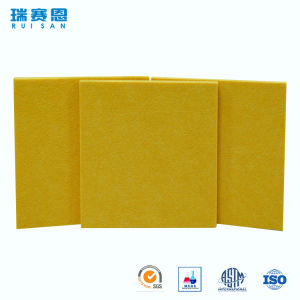 Facile installer l'écran antibruit réutilisé par 100% de fibre de polyester d'animal familier pour KTV