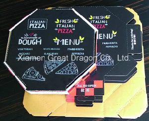Boîte de pizza coins de verrouillage pour la stabilité et la durabilité (pizza-0203)