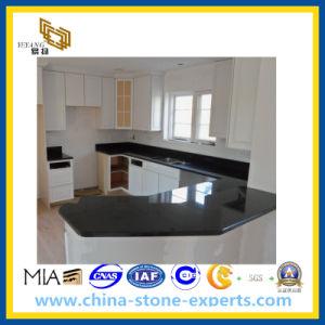 Zwarte Galaxy Granite Countertop voor Kitchen en Bathroom (YY)