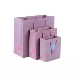 Настраиваемая печать небольших переработанных Cute Cartoon Mini крафт-бумаги подарочный пакет, пакет подарок бумаги