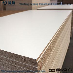 1220x2440mm Diseño de moda de melamina Flakeboard/placa de partículas