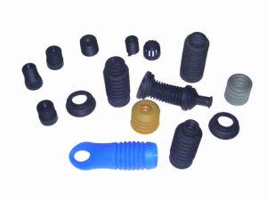 Los sellos de caucho de silicona de color negro y juntas