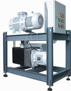 Vacuum Induction Melting Furnaceのための回転式Piston Roots Pump System