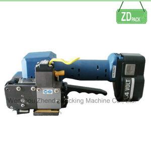 Herramienta de embalaje alimentado por batería máquina flejadora para PP/PET tiras (P323)