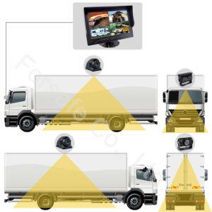 9  de Bus van de Monitor van de Vierling Ahd/Systeem van de Camera van de Auto/van de Vrachtwagen het Op zwaar werk berekende Rearview