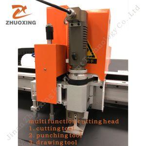 Bolsas Cutter de cuchilla oscilante CNC Máquina de corte haciendo 2516
