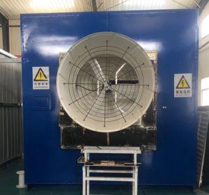 Isolierungs-Grad F 3 Phasen-Faser-Glas-Absaugventilator für grünes Haus/industrielle Ventilation