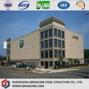 La calidad de construcción rápida de moderno edificio de acero comercial