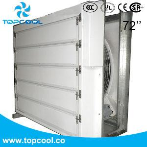 Les performances d'entraînement de courroie de ventilateur de ventilation Ventilateur avec obturateur Box 72