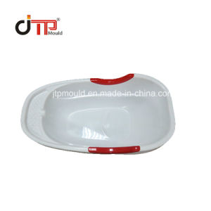 光沢度の高いコア型のプラスチック赤ん坊の洗面器型