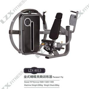Lzxfitness 최고 체조 장비 가슴 나비 힘 장비
