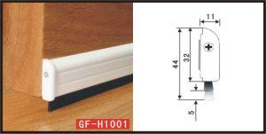 Tochtstrip voor het Aluminium gf-H1001 van de Bodem van de Deur
