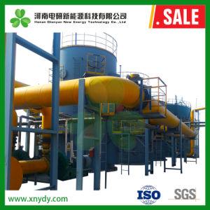 El combustible limpio de la tecnología de gasificación de carbón continuo automático de gasificante