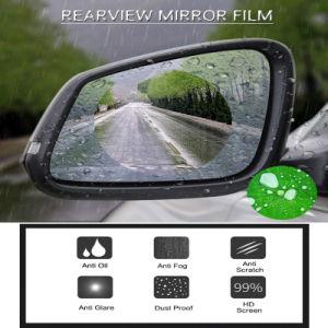 2PCS Nano Beschermende Film van het Venster van de Spiegel van de Mening van de AntiMist van de Auto van de Deklaag Regendichte Achter