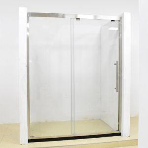 Gabinete de chuveiro em vidro temperado para duche deslizando Cabina de Duche