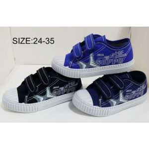 Inyección de nuevo estilo de los niños del muchacho Sneakers zapatos casual Zapatos de lona (HH1810-12)