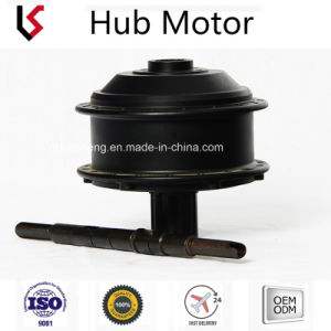 Kshm024 350W-500W de 22-26 24V/48V el chasis el engranaje del motor sin escobillas Hub de bicicletas