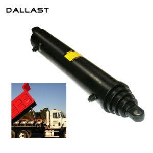 ダンプトラックまたはトレーラーのための単動多段式望遠鏡の水圧シリンダ
