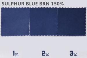 Blauw 7 150% van de zwavel - de Kleurstof van de Zwavel